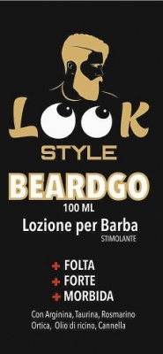 BEARDGOO Lozione Barba Stimolante 100 ml Look Style
